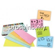 FC011 (Prosains) MULTI PURPOSE FLASH CARD 60PCS (WARNA)