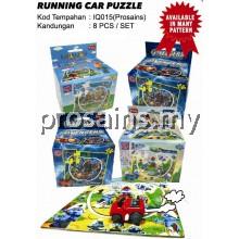 IQ015 (Prosains) - RUNNING CAR PUZZLE