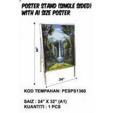 PESPS1360 (Prosains) - POSTER STAND (SINGLE SIDED) WITH A1 SIZE POSTER