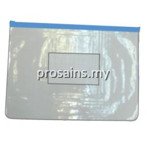 A5 SIZE DOCUMENT HOLDER WITH ZIP (50 PCS / SET) (Prosains)