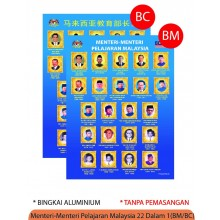 PESPS034 (Prosains) - MENTERI MENTERI PELAJARAN MALAYSIA 20 DALAM 1