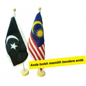AP060 (Prosains) TABLE FLAG SINGLE ( MALAYSIA + NEGERI )  (Prosains)