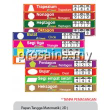 PESPS1095 (Prosains) - PAPAN TANGGA MATEMATIK 2D