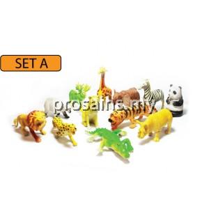 SC023 (Prosains) - MODEL OF WILD ANIMALS (SET A)