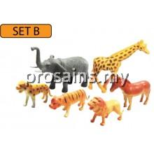 SC116 (Prosains) - MODEL OF WILD ANIMALS (SET B)