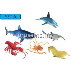 SC118 (Prosains) - MODEL OF SEA ANIMALS (SET A)