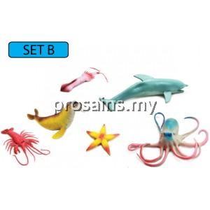 SC119 (Prosains) - MODEL OF SEA ANIMALS (SET B)