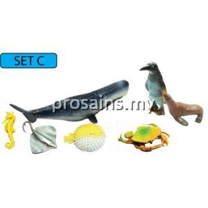 SC120 (Prosains) - MODEL OF SEA ANIMAL (SET C)
