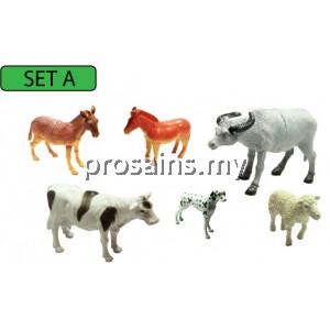 SC117 (Prosains) - MODEL OF FARM ANIMALS (SET A)
