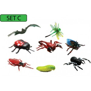 SC123 (Prosains) - MODEL OF INSECTS (SET C)