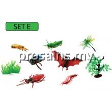 SC125 (Prosains) - MODEL OF INSECT (SET E)