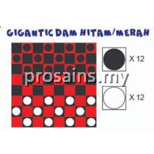 PESPS852 (Prosains) - GIGANTIC DAM HITAM / MERAH