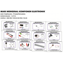 PT040 (Prosains) MARI MENGENAL KOMPONEN ELETRONIK (10 PCS)