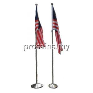 AP062 (Prosains) INDOOR / OUTDOOR FLAG POLE (2 PCS / SET)