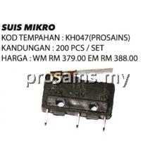 KH047 (Prosains) SUIS MIKRO (200 PCS)