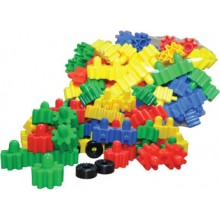 TY210 (Prosains) - FLOWERS AND WHEEL BLOCK (+/- 47 pcs)