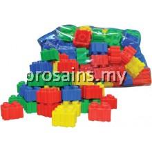 TYK230 (Prosains) - PUZZLE BUILDING BRICKS (+/- 120 pcs)