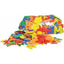 TY350 (Prosains) - LINGKING A TO Z AND GEOMETRIC SHAPES (+/- 350 PCS)