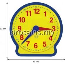 MT021 (Prosains) - JAM BESAR PLASTIK MATEMATIK (1 PCS)
