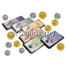 MT041$$$$ (Prosains) - SET WANG MAINAN (SAIZ SEBENAR) (530 PCS / SET)