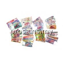 MT090$$$$ (Prosains) - SET WANG ASIA TENGGARA ASEAN (+/- 455 PCS / SET)