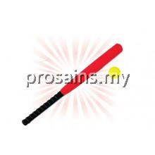 PJK012 (Prosains) - EVA FOAM BASEBALL BAT WITH BALL (8 PCS / SET)