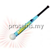 PJK017 (Prosains) - LONG BASEBALL BAT WITH BALL (8 PCS / SET)
