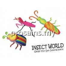 PERTANDINGAN INSECT WORLD (100 PCS / SET)